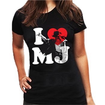Buy I Love MJ T-Shirt by Michael Jackson