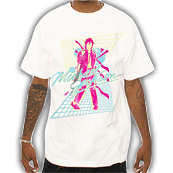 Buy Pink Beat It T-Shirt by Michael Jackson