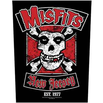 Buy New Jersey EST. 1977 Patch by Misfits