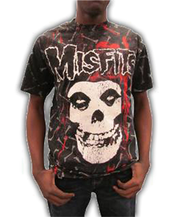 Buy Bones Allover T-Shirt by Misfits
