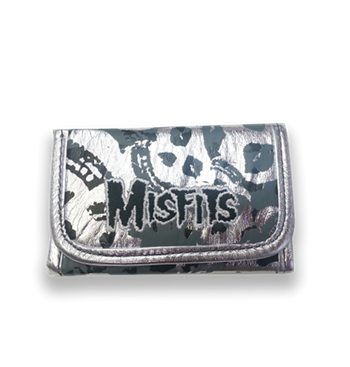 Buy Silver Skull Wallet by Misfits