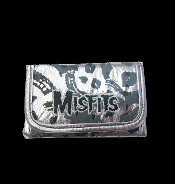 Buy Silver Skull Wallet by Misfits