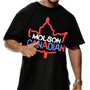 Buy Canadian Lights T-Shirt by Molson