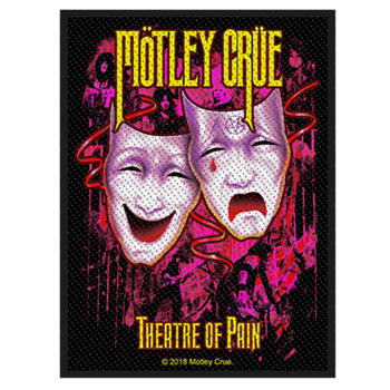 Motley Crue Theatre Of Pain Patch