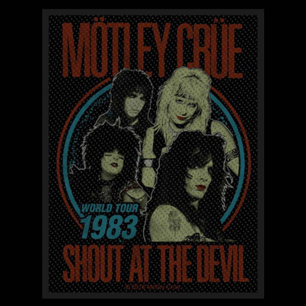 Shout At The Devil World Tour 1983 Patch