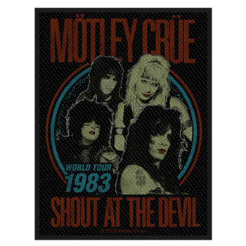 Motley Crue Shout At The Devil World Tour 1983