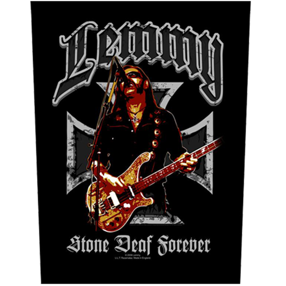Lemmy Stone Deaf Forever Patch