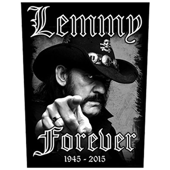 Motorhead Lemmy Forever Backpatch