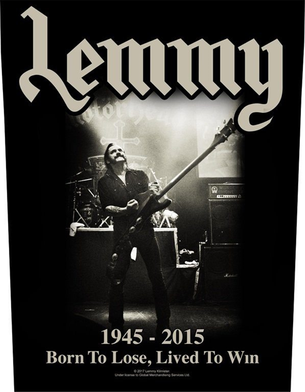 Lemmy 1945-2015 Patch