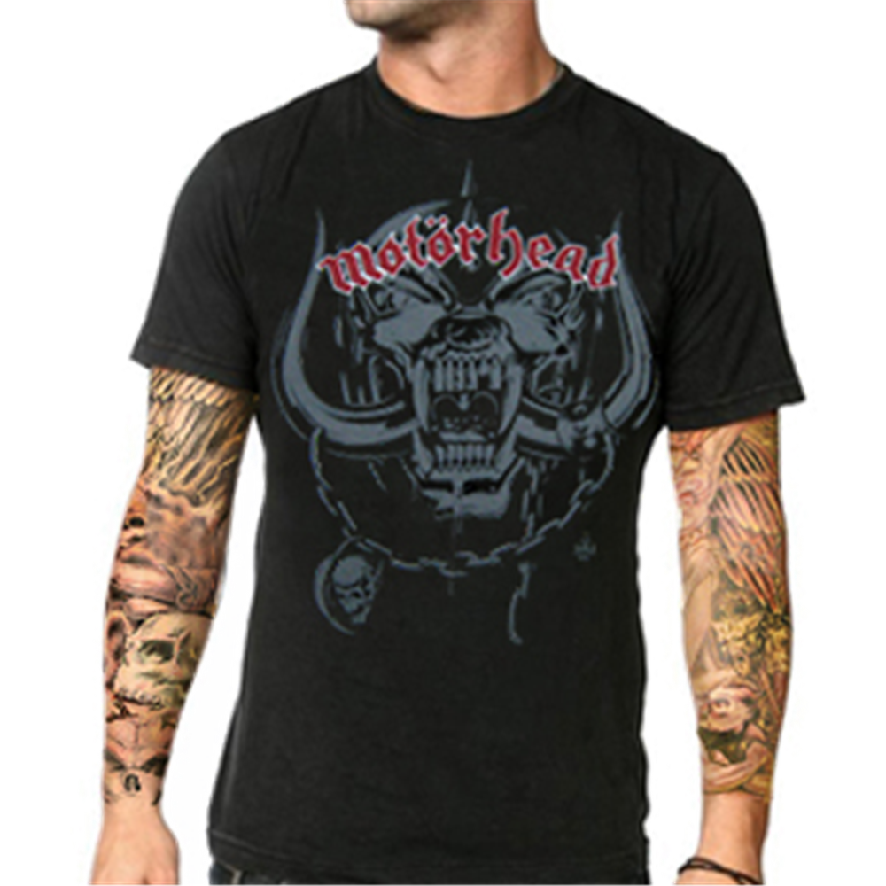 Motorhead Black T-Shirt