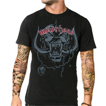 Buy Motorhead Black T-Shirt by Motorhead
