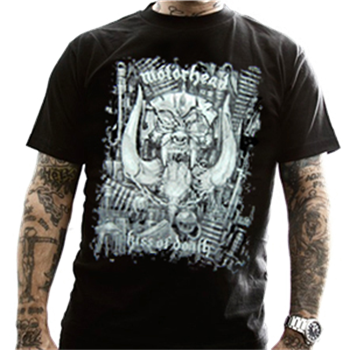 Buy Kiss Of Death T-Shirt by Motorhead