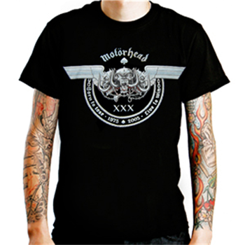 Buy 30th Anniversary T-Shirt by Motorhead