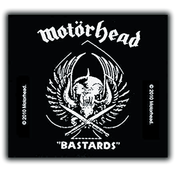 Motorhead Bastards Patch