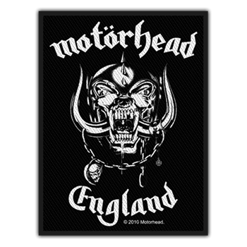 Buy England Patch by Motorhead