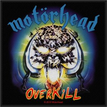 Buy Overkill Patch by Motorhead