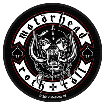 Motorhead Biker Badge Patch