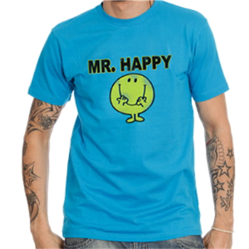 Mr. Men Mr. Happy Blue