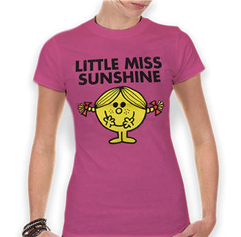 Buy Litte Miss Sunshine (Pink) T-Shirt by Mr. Men