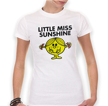 Mr. Men Little Miss Sunshine (White) T-Shirt