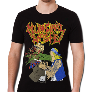 Municipal Waste Barfing T-Shirt