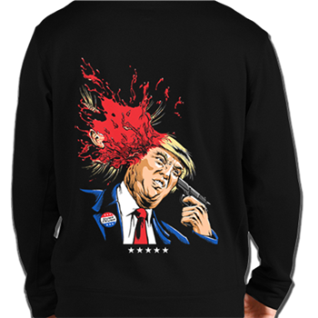 Municipal Waste Trump Splatter Pullover Hoodie