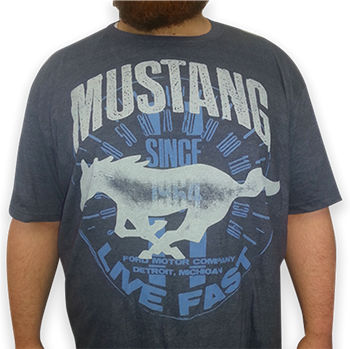 Mustang Live Fast T-Shirt