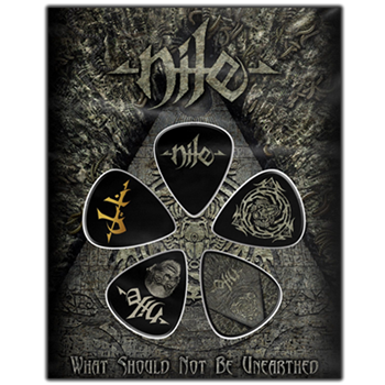 Buy What Should Not Be Unearthed Guitar Pick Set by Nile