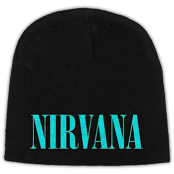 Buy Nirvana Teal Logo (Embroidered) Beanie by Nirvana
