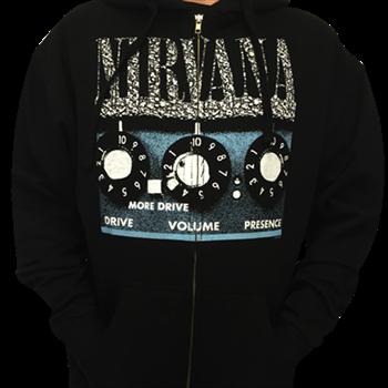 Buy Amplifier Zip Hoodie by Nirvana