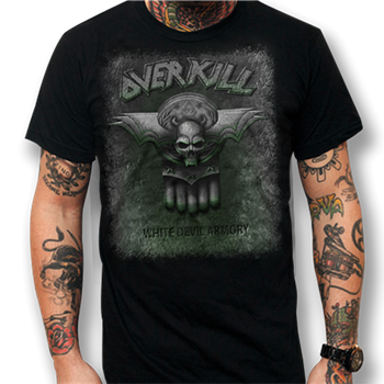 Overkill WDA Tour Dates T-Shirt