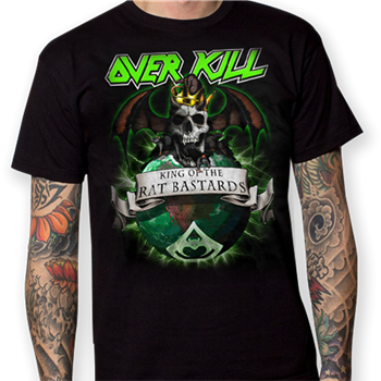 Buy King of the Rat Bastards T-Shirt by Overkill
