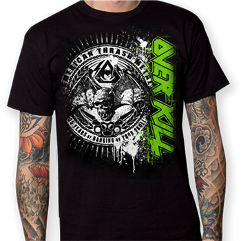 Buy Seal 2015 T-Shirt by Overkill