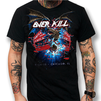 Buy Chicago 2015 T-Shirt by Overkill