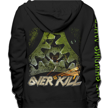 Overkill The Grinding Wheel Zip Hoodie (Import)