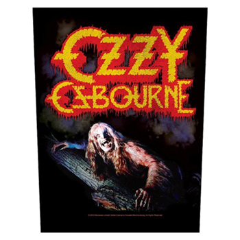 Ozzy Osbourne Bark At The Moon Backpatch