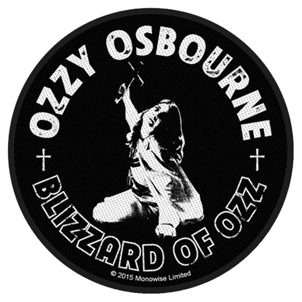 Blizzard Of Ozz (Round) Patch