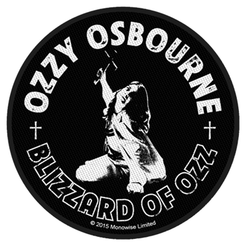 Ozzy Osbourne Blizzard Of Ozz (Round) Patch