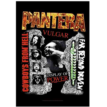 Pantera First 3 Albums Collage