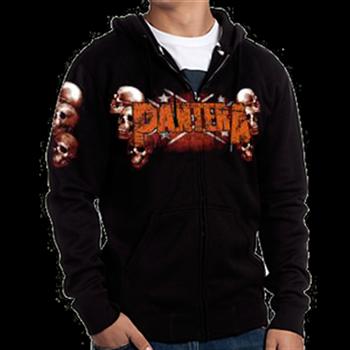 Buy Skull Zip Hoodie by Pantera