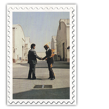 Pink Floyd Wish You Were Here Postcard