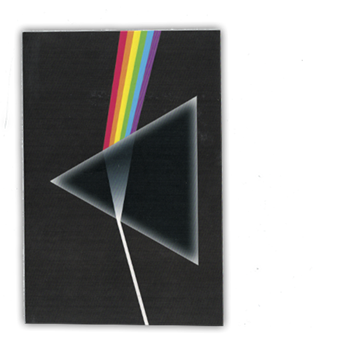Pink Floyd Dark Side Postcard