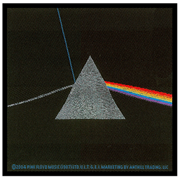 Pink Floyd Dark Side Of The Moon Patch