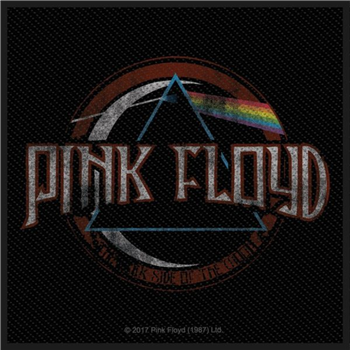 Pink Floyd Distressed Dark Side Of The Moon Patch