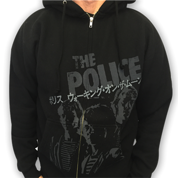 Police (the) Japan Zip Hoodie