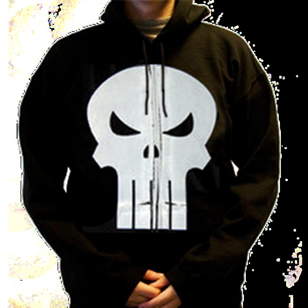 Skull Zip Hoodie