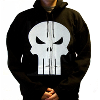 Buy Skull Zip Hoodie by Punisher (the)