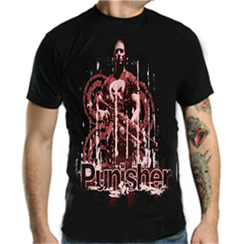 Punisher (the) Rifle Distressed T-Shirt