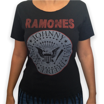 Buy Presidential Seal (Fringe Waist) T-Shirt by Ramones