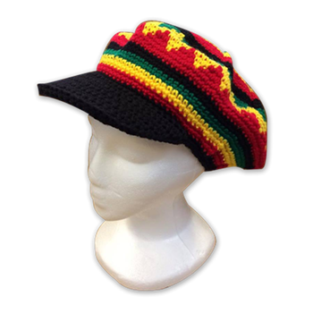 Buy Pattern With Visor Hat by Rastahat